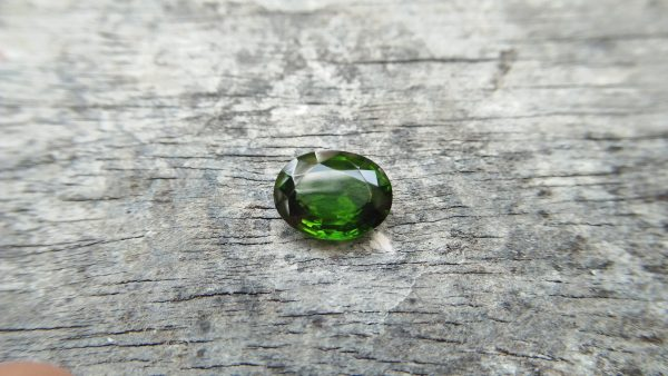 Zircon is a mineral belonging to the group of nesosilicates. Its chemical name is zirconium silicate, and its corresponding chemical formula is ZrSiO₄. Green colour Zircons are rare colour veriety of zircon family. Zircon has an anti-spasmodic effect on the liver and gall bladder of the wearer. Green Zircon helps one open up to make new friends and draws wealth