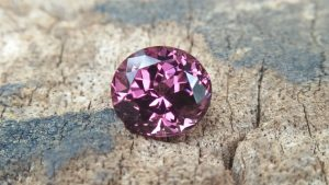 Ceylon Natural Purplish Pink Spinel 7.7mm x 7mm x 5.7mm dimension, 2.20cts weight Very Clean Stone Unearthed From City of Gem Ratnapura Sri Lanka