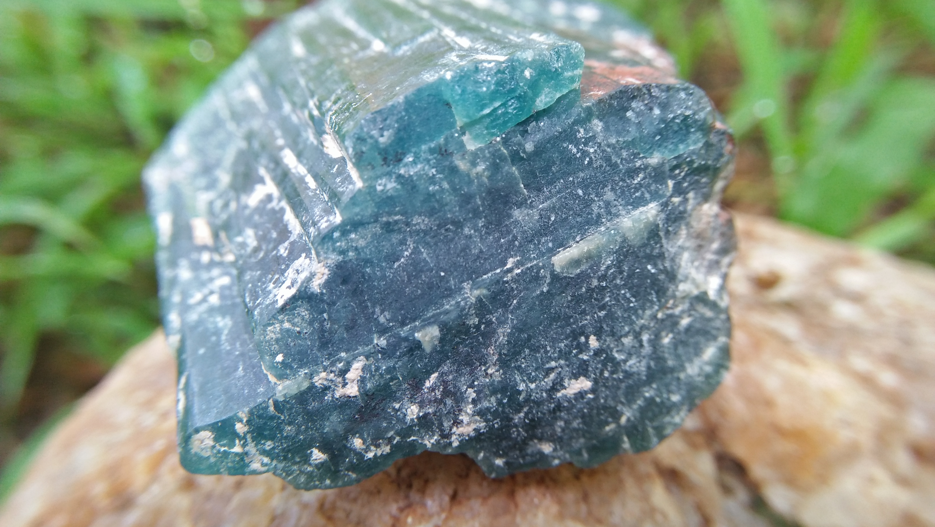 Grandidierite is an extremely rare mineral and gem that was first discovered in 1902 in southern Madagascar. Optical properties: Biaxial (-) Category: Nesosilicate Formula: (Mg,Fe2+)Al3(BO3)(SiO4)O2 Crystal system: Orthorhombic Color: Bluish green Dispersion: strong Hardness: 7 to 7.5 Refractive Index: 1.590 to 1.623 Grandidierite have been found in only a few locations around the world, including Malawi, Namibia and Sri Lanka and few gem quality specimens have come mainly from Madagascar.