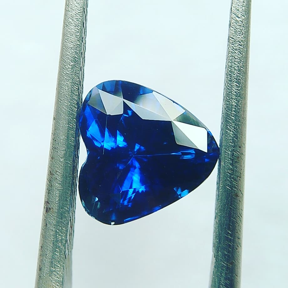 """Sapphire is a precious gemstone, a variety of the mineral corundum, an aluminium oxide. It is typically blue, but natural """"fancy"""" sapphires also occur in yellow, purple, orange, and green colors; """"parti sapphires"""" show two or more colors."""
