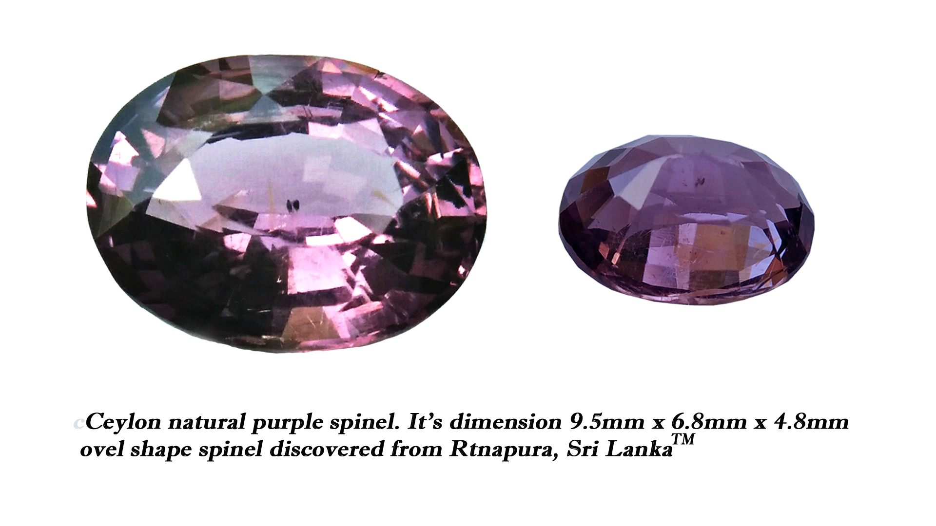 Spinel is the magnesium-aluminum member of the larger spinel group of minerals with chemical formula MgAl₂O₄. Spinel is actually a large group of minerals. Gahnite, hercynite, ceylonite, picotite, and galaxite are all part of the spinel group. This oxide mineral is a Cubic crystal system with 7.5–8.0 hardness according to the Mohs hardness scale. Spinels Specific Gravity is depending on the composition of chemicals such as Zn-rich spinel can be as high as 4.40, otherwise, it averages from 3.58 to 3.61. Spinel has many colors such as red, pink, blue, lavender/violet, dark green, brown, black, colorless, gray. Spinel is a single reflective Non-pleochroic gemstone and Anomalous in some blue zincian varieties. It can be found as Opaque, Translucent or transparent. Spinel RI value is n = 1.719  Some red and pink spinels have fluorescence under UV Light. also, Some spinels have magnetism Weak to medium. Natural spinels typically are not enhanced. Spinels are found in Madagascar, Sri Lanka, Vietnam, Myanmar, Tanzania, Kenya, Nigeria, Afghanistan, Albania, Algeria, Atlantic Ocean, Australia, Belgium, Bolivia, Brazil, Cambodia, Canada. Spinel has long been found in the gemstone-bearing gravel of Sri Lanka. Since 2000 in several locations around the world have been discovered spinels with unusual vivid colors. when the mineral is pure, it's colorless. That's called allochromatic gemstones. Als, Spinels are found with 4-rayed stars and 6-rayed stars. Some spinels are found with a color-changing effect such as Blue to violet, Grayish-blue to reddish-violet and some stones from Sri Lanka change from violet to reddish violet, due to the presence of Fe, Cr, and V. Blue Spinel is a very special gemstone because it is one of the few that occur naturally. The blue Spinel is colored from the impurity of Cobalt in the crystal lattice. High Color saturation in blue Spinels are always colored by Cobalt and are extremely rare to find. Cobalt spinel has high market value. Healing Properties of Spinels 👇 Spinel is known as the stone of revitalization. This MgAl2O4 mineral powers make the gums and teeth stronger and is also beneficial for gums, skin, slimming the healthy and overweight body and cancer healing. Spinel promotes physical vitality, refills the energy and eases exhaustion. Spinel is a very soothing stone, as it calms and relieves stress, anxiety, PTSD and depression. Also, Spinel is working with chakra balancing. Black Spinel - Earth Star Chakra , Red or Pink - Spinel Base Chakra, Green Spinel - Heart chakra, Blue Spinel - Throat chakra, Purple Spinel