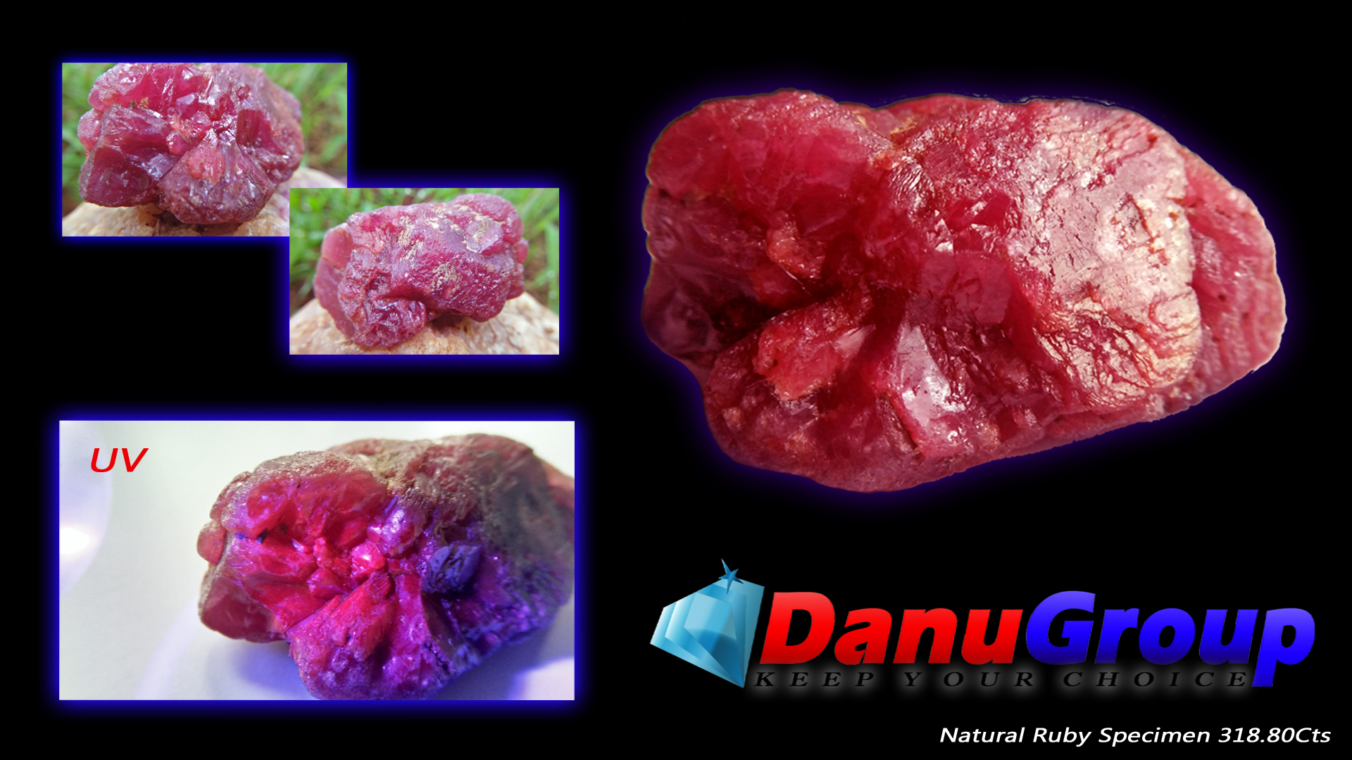 Natural Ruby specimen 318.80Cts weight, 51mm x 21mm x 30mm dimension stone A ruby is a pink to blood-red colored gemstone, a variety of the mineral corundum. Other varieties of gem-quality corundum are called sapphires. Category: Oxide mineral variety Formula: aluminium oxide withchromium, Al2O3:Cr Crystal system: Trigonal Crystal class: Hexagonal Mohs scale: hardness9.0 Luster: Subadamantine, vitreous, pearly Specific gravity: 3.97 – 4.05 Optical properties: Uniaxial - Refractive index: nω=1.768–1.772 nε=1.760–1.763 Ruby is a powerful stone to shield against negative energy, psychic attack, and energy vampirism, especially of the heart energy.Ruby is a stone of Divine creativity. It boosts your energy levels and promotes high self-esteem, intuition, and spiritual wisdom. According to astrology generally ruby should be worn in ring finger of right hand. Ruby is one of the most popular gemstones, and is used extensively in Jewelry. Ruby is used in all forms of jewelry, including bracelets, necklaces, rings, and earrings.