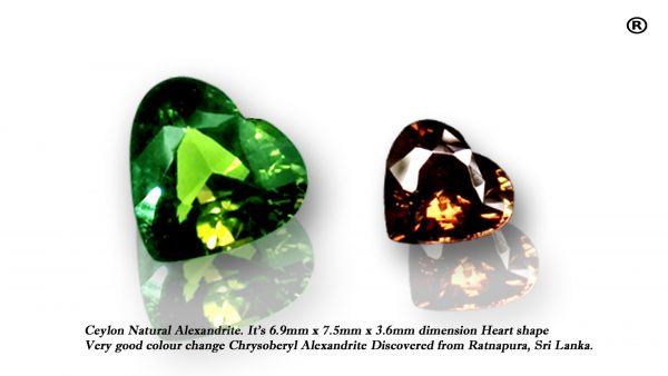 ceylon Natural alexandrite
