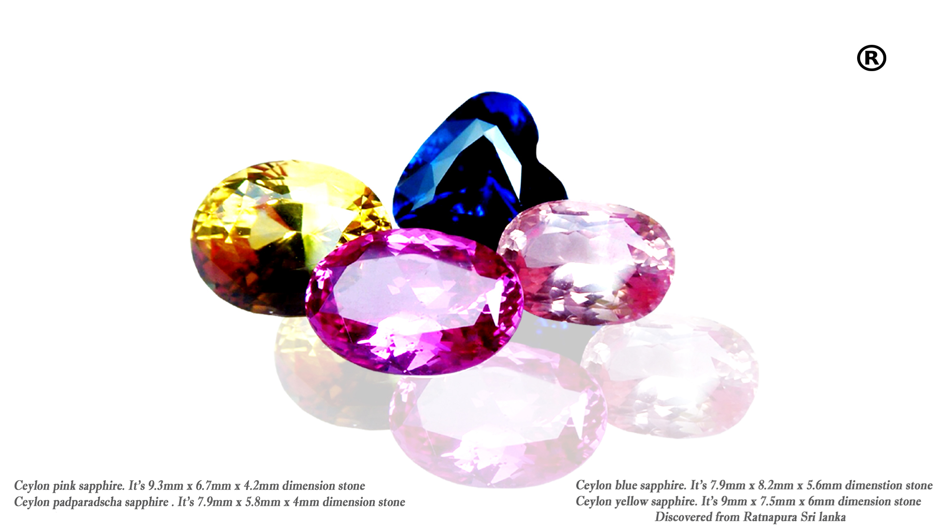 "Sapphire is a precious gemstone, a variety of the mineral corundum, an aluminium oxide. It is typically blue, but natural ""fancy"" sapphires also occur in yellow, purple, orange, and green colors; ""parti sapphires"" show two or more colors."