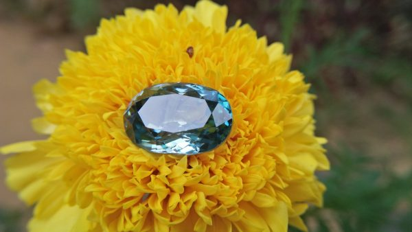 "Natural Genuine Blue Zircon - Starlite WEIGHT : 13.03ct COLOUR : Vivid Greenish Blue CUT & SHAPE : Fancy Oval TRANSPARENCY : Transparent MEASUREMMENT : 15.2x 10.35 x 7.21mm SPECREUM : Rare earth spectrum TREATMENT : None ""GLK"" Certified ( GIA Alumni Association Member/ Member of Gemmological association Great Britain) GLK : UN - 01484 • Blue zircon is one of the US birthstones for December Natural Genuine Blue Zircon - Starlite WEIGHT : 13.03ct COLOUR : Vivid Greenish Blue CUT & SHAPE : Fancy Oval TRANSPARENCY : Transparent MEASUREMMENT : 15.2x 10.35 x 7.21mm SPECREUM : Rare earth spectrum TREATMENT : None ""GLK"" Certified ( GIA Alumni Association Member/ Member of Gemmological association Great Britain) GLK : UN - 01484 • Blue zircon is one of the US birthstones for December"