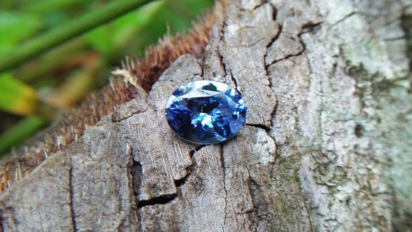 Sapphire is the birthstone for September NATURAL BLUE SAPPHIRE Shape : Ovel Cut : Flower Dimension : 7.5 mmx 5.9 mm x 3.4 mm Weight : 1.14 Cts Clarity : SI Colour : Blue Transparency : Transparent Tteatment : Unheated/ Natural Origin : Sri Lanka