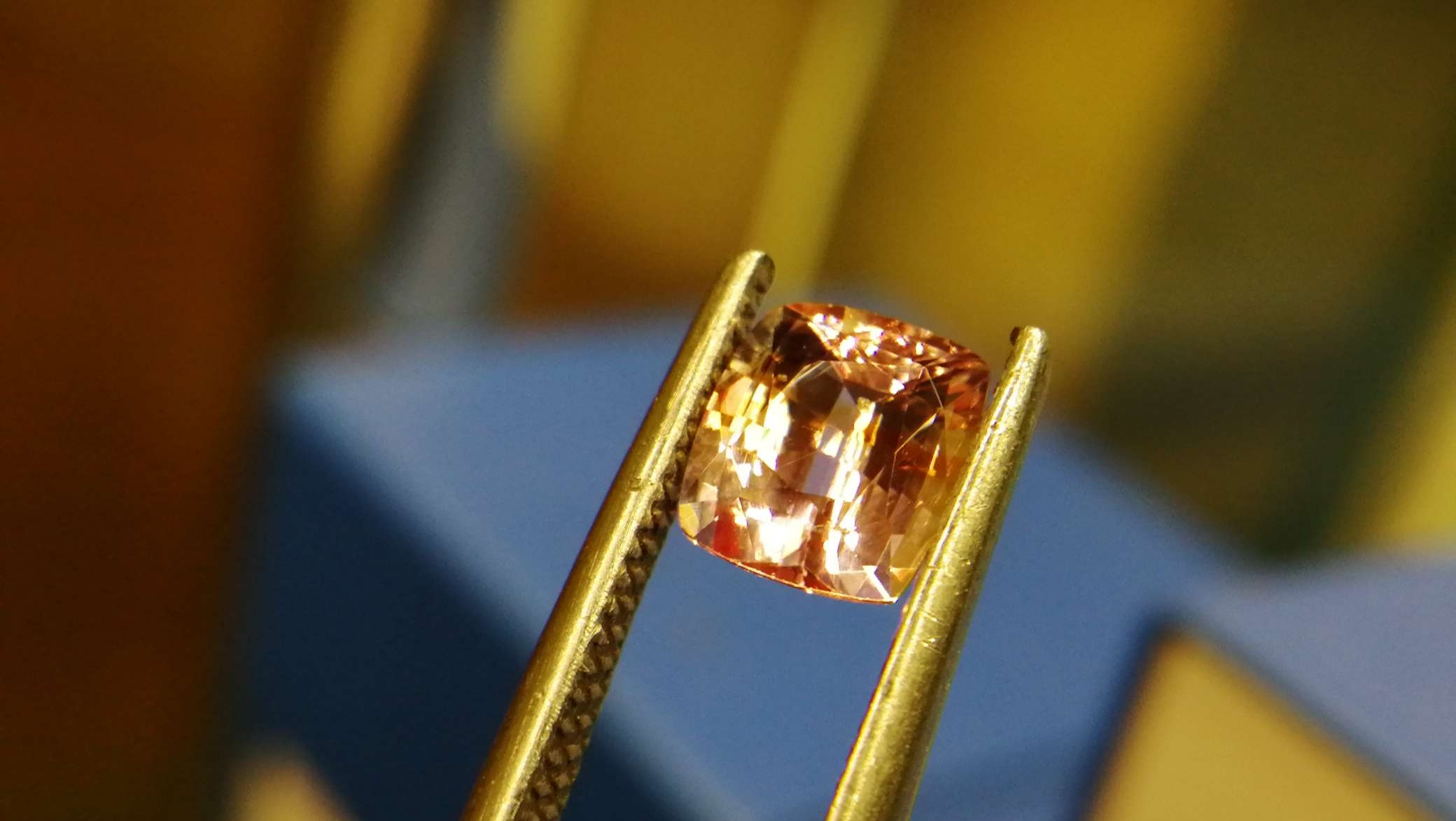 Ceylon Natural Padparadscha Sapphire