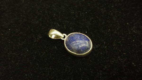 Metal : Silver Stone : Lapis Lazuli Type : Pendant Weight :. 3.43 g 青金石銀吊飾 宝石 :青金石 颜色 : 蓝色 透明 : 不透明的宝石 金属:银 重量:3.43 克