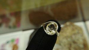 Metal : Standard 925 Silver  Colour : Yellow  Stone : Citrine   Type : Ring  Weight : 3.56 g   黄水晶銀介指   宝石 :  黄水晶  颜色 : 黃色  透明 : 好透明   金属:銀  重量:3.56 克