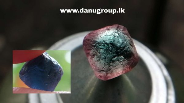 Rare Natural Colour Change Cobalt Spinel Crystal