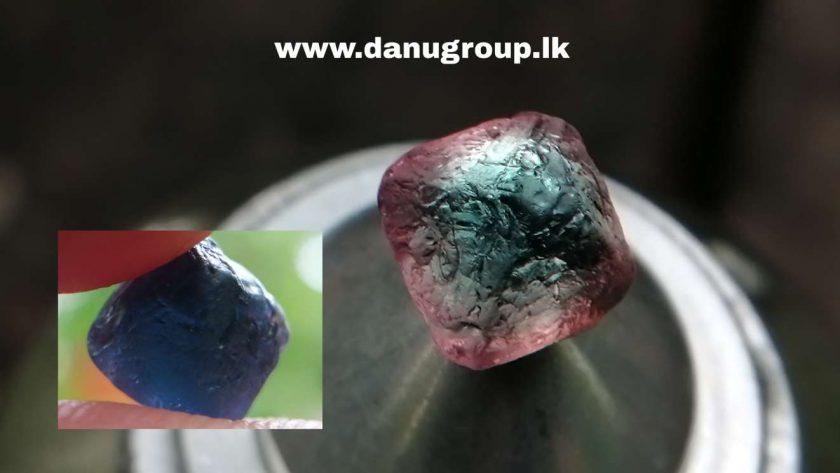 Rare Natural Colour Change Cobalt Spinel Crystal
