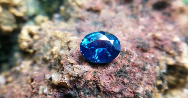 Blue sapphire flawless
