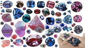 spinel gemstone collection