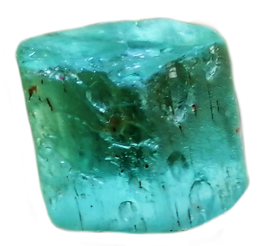 Natural Vanadium beryl crystal