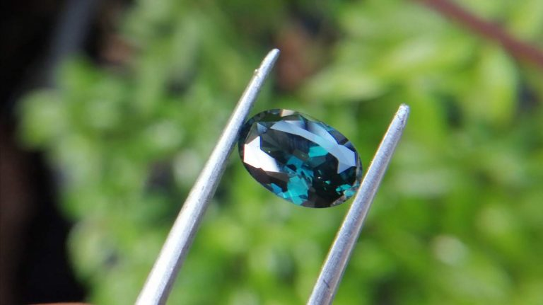 Colour : Greenish Blue Shape : Oval Weight : 1.57 cts Dimension : 8.9 x 6.0 x 3.9 mm Treatment : Unheated Clarity : SI • CSL - Colored Stone Laboratory Certified ( GIA Alumina Association Member ) • CSL Memo No : 35336B95E375 Spinel is the magnesium-aluminum member of the larger spinel group of minerals with chemical formula MgAl₂O₄. Spinel is actually a large group of minerals. Gahnite, hercynite, ceylonite, picotite, and galaxite are all part of the spinel group. This oxide mineral is a Cubic crystal system with 7.5–8.0 hardness according to the Mohs hardness scale. Spinels Specific Gravity is depending on the composition of chemicals such as Zn-rich spinel can be as high as 4.40, otherwise, it averages from 3.58 to 3.61. Spinel has many colors such as red, pink, blue, lavender/violet, dark green, brown, black, colorless, gray. Spinel is a single reflective Non-pleochroic gemstone and Anomalous in some blue zincian varieties. It can be found as Opaque, Translucent or transparent. Spinel RI value is n = 1.719 Some red and pink spinels have fluorescence under UV Light. also, Some spinels have magnetism Weak to medium. Natural spinels typically are not enhanced. Spinels are found in Madagascar, Sri Lanka, Vietnam, Myanmar, Tanzania, Kenya, Nigeria, Afghanistan, Albania, Algeria, Atlantic Ocean, Australia, Belgium, Bolivia, Brazil, Cambodia, Canada. Spinel has long been found in the gemstone-bearing gravel of Sri Lanka. Since 2000 in several locations around the world have been discovered spinels with unusual vivid colors. when the mineral is pure, it's colorless. That's called allochromatic gemstones. Als, Spinels are found with 4-rayed stars and 6-rayed stars. Some spinels are found with a color-changing effect such as Blue to violet, Grayish-blue to reddish-violet and some stones from Sri Lanka change from violet to reddish violet, due to the presence of Fe, Cr, and V. Blue Spinel is a very special gemstone because it is one of the few that occur naturally. The blu