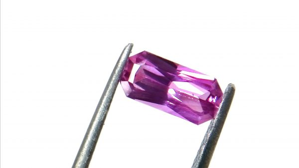 """Ceylon Natural Pink Sapphire Dimension -: 8.8mm x 4.4mm x 3mm Weight -: 1.10Cts Mineral -: Ratnapura, Sri Lanka Treatment -: Unheated/Natural Colour -: Pink Clarity -: VVS Sapphireis a precious gemstone, a variety of the mineralcorundum, consisting ofaluminum oxidewith trace amounts of elements such asiron,titanium,chromium,copper, ormagnesium. Sapphiredeposits are found inEastern Australia,Thailand,Sri Lanka,China, Vietnam, Madagascar, Greenland, East Africa, and inNorth Americain mostly inMontana. Madagascar, Sri Lanka, and Kashmir produce large quantities of fine quality Sapphires for the world market. Sapphires are mined fromalluvialdeposits or from primary underground workings.  Blue SapphireandRubyare the most popular Gemstone inCorundumFamily. also, Orangy Pink Sapphire is calledPadparadscha. The name Drive's from the Sinhalese word """"padmaraga"""" """"පද්මරාග"""", meaninglotus blossom, as the stone is of a similar color to thelotus blossom. Bi-Color Sapphire from DanuGroup Collection Also, Sapphire can be found as parti-color, bi-color or fancy color. Australia is a main parti-color Sapphire producer. White Sapphire also, White sapphire is a very popular stone to wear instead ofDiamondas a 3rd hardness gemstone afterdiamond( moissanite hardness is 9.5). Various colors of star sapphires Astar sapphireis a type of sapphire that exhibits a star-like phenomenon known asasterism. Also, A rare variety of natural sapphire, known as color-change sapphire, exhibits different colors in a different light. Sapphires can be treated by several methods to enhance and improve their clarity and color. A common method is done by heating the sapphires in furnaces to temperatures between 500 and 1,850°C for several hours, or by heating in a nitrogen-deficient atmosphere oven for 1 week or more.Geudais a form of the mineralcorundum.Geudais found primarily inSri Lanka. It's a semitransparent and milky appearance due torutileinclusions.Geudais used to improve its color by heat treatment. So"""