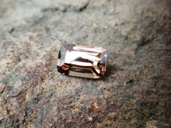 "Ceylon Natural "" chocolate 🍫"" Zircon called ""jargoon"" Dimension : 11mm x 7mm x 5.3mm Weight :  4.70Cts Colour : Chocolate brown Minearal : Ratnapura Sri Lanka Treatment : Unheated Zircon is a nesosilicates group mineral. Its corresponding chemical formula is ZrSiO4. The name derives from the Persian zargun, meaning ""gold-hued"". Zircon is a popular gemstone that has been used for nearly 2000 years. The crystal structure of zircon is a tetragonal crystal mineral with 7.5 hardness according to the Mohs Hardness scale. Zircon is also very resistant to heat and corrosion and known as Insoluble gemstone. This Uniaxial (+) mineral Specific gravity is 4.6–4.7. It's heavy more than such as Sapphire, chrysoberyl, Garnets, spinels. Gem Businessmen use these physical properties to identify zircons from other gemstones. Zircon has weak pleochroism and has colors such as Colorless, Very Strong Blue To Green-Blue, Yellow, Blue-Green, Yellowish Green, Yellow-Green, Brown, Orangy Yellow To Reddish Orange, Dark Brownish Red, Sometimes Purple, Gray To Bluish Gray, Brownish Gray. Colorless specimens that show gem quality are a popular substitute for diamond and are also known as ""Matara diamond"". Zircon has been classified into three types called high zircon, intermediate zircon ( medium zircon ), and low zircon. Some Quality Type brown zircons can be transformed into colorless and blue zircons by heating to 800 to 1000 °C. There are Some using names for Zircon such as Hyacinth or jacinth: yellow-red, orange, red-brown to brown, Jargoon or jargon: light yellow to colorless stones, Beccarite: green zircon, Melichrysos: straw yellow, Starlite: blue heat treated zircon, Sparklite: colorless zircon. Zircon is found in Madagascar, Sri Lanka, Tanzania, Cambodia, Australia, Burma, Afghanistan, Canada, USA, Thailand, Russia, Mozambique, Norway. Healing Properties 👇 Zircon is known as ""The stone of virtue"" All colors. It clears the auric negativity in the wearer and helps to communicate with the higher realm when in need. Zircon is very well known for its balancing and positive energy effects. It can attract happiness, prosperity, and abundance to the wearer. It will bring the spiritual energy down from the higher transpersonal chakras via the crown chakra, then move it to all of the lower chakras. Green zircon stimulates the Heart chakra. Also. It is a good crystal for meditation to open heart chakra energies. Its vibrational energies help to user stay on the spiritual path. Brown is known as the color of Earth. Brown Zircon is an excellent stone for meditations and connecting with cosmic energy. Its vibrational energies help to keep calm your mind and reduce stress."