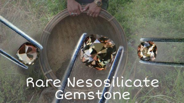 Natural Andalusite - Rare Nesosilicates Gemstone