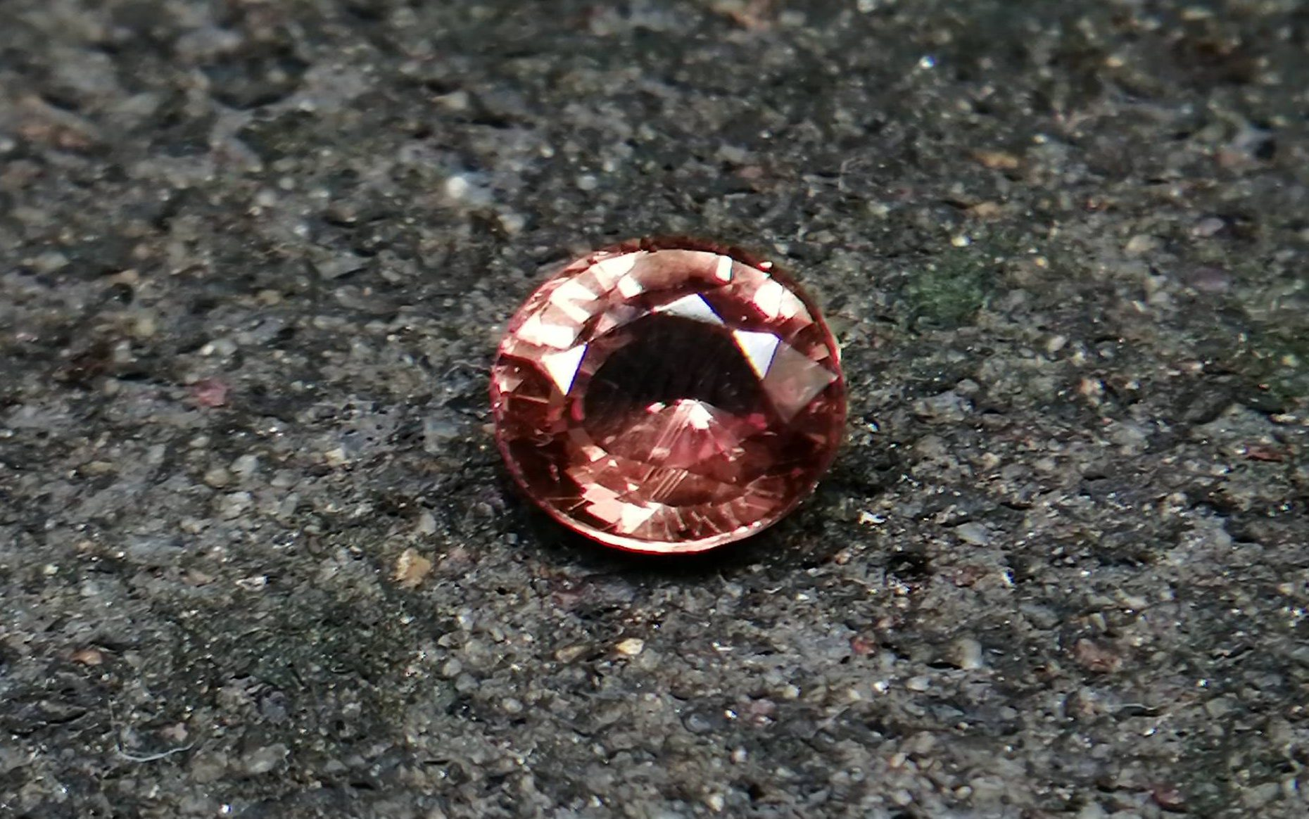 Natural Orangy Brown Sapphire