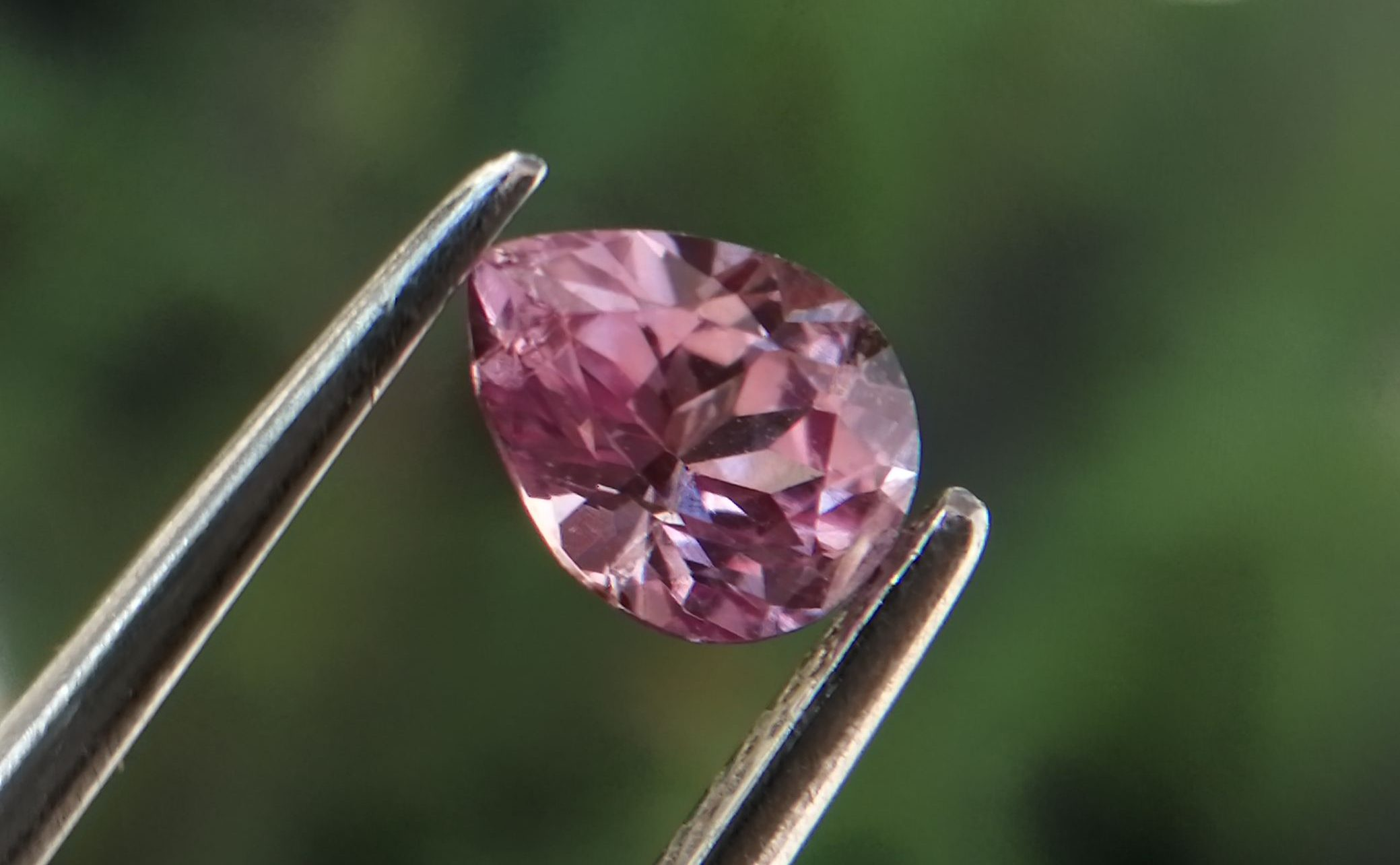 Natural Purplish Pink Sapphire