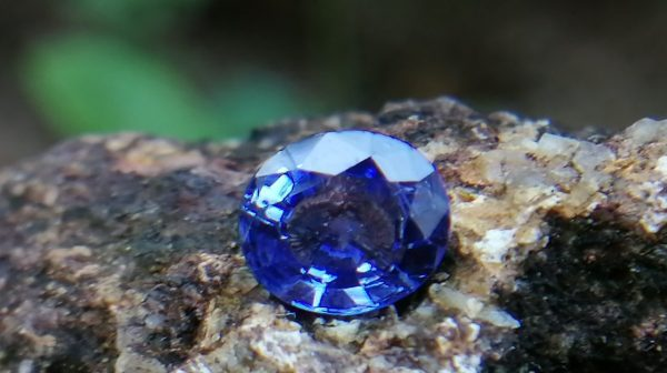 Ceylon Cornflower Blue Sapphire - Blue Sapphire Stimulates the Third-Eye Chakra and Throat Chakra