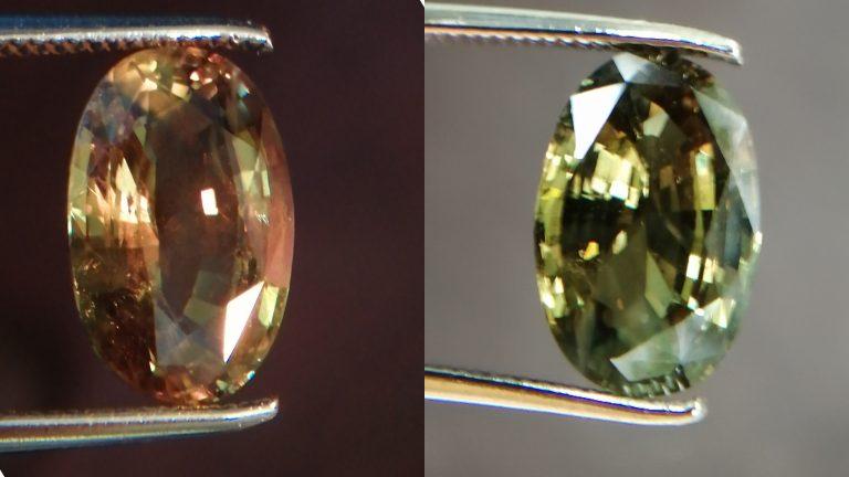 Ceylon Natural Chrysoberyl Alexandrite