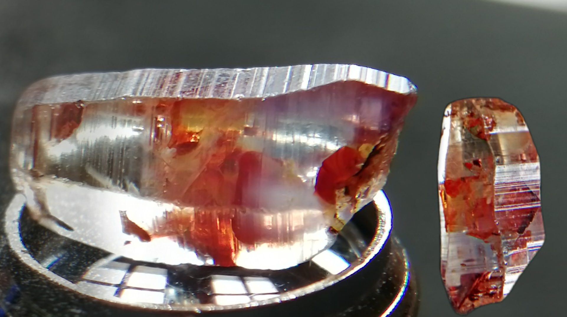 Ceylon Natural Sapphire Rough Crystal