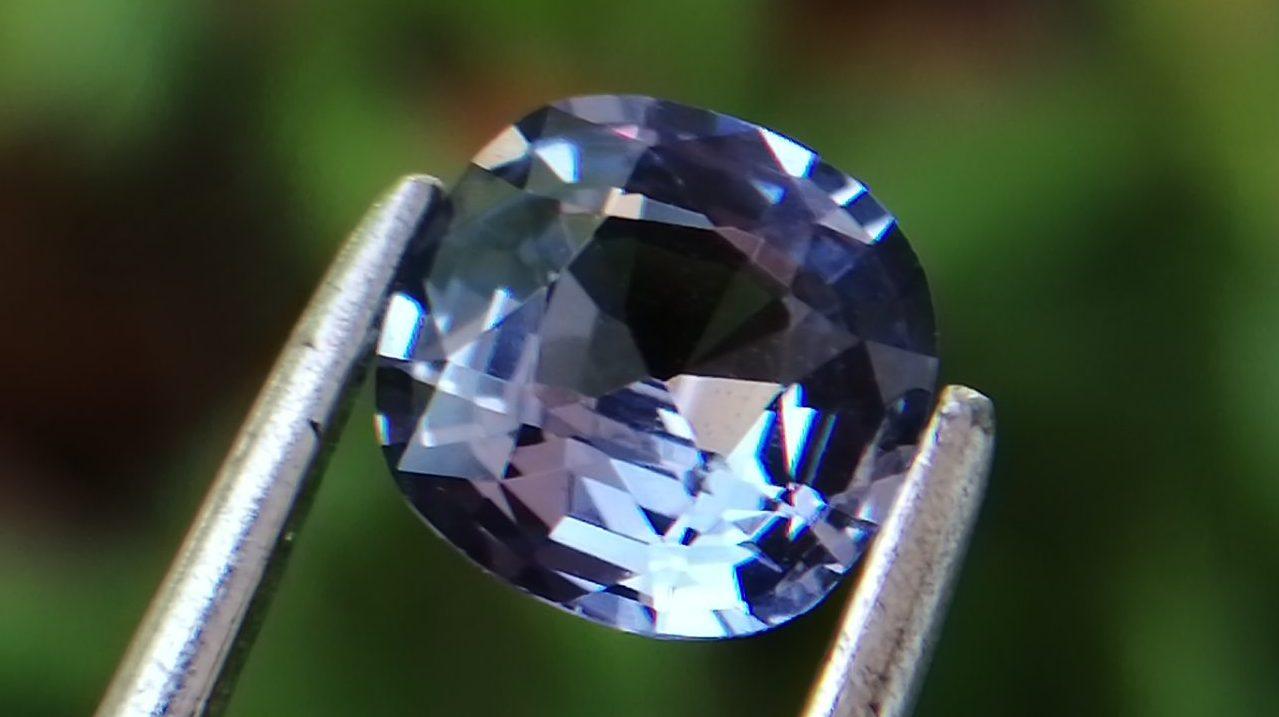 Natural Violet Sapphire Sri Lanka