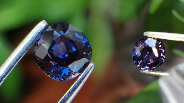 Rare Color Change Sapphire Sri Lanka