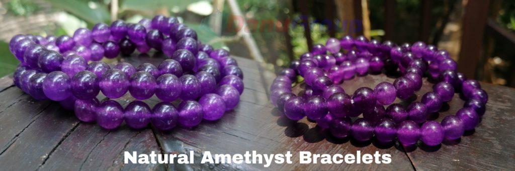 amethyst bracelete