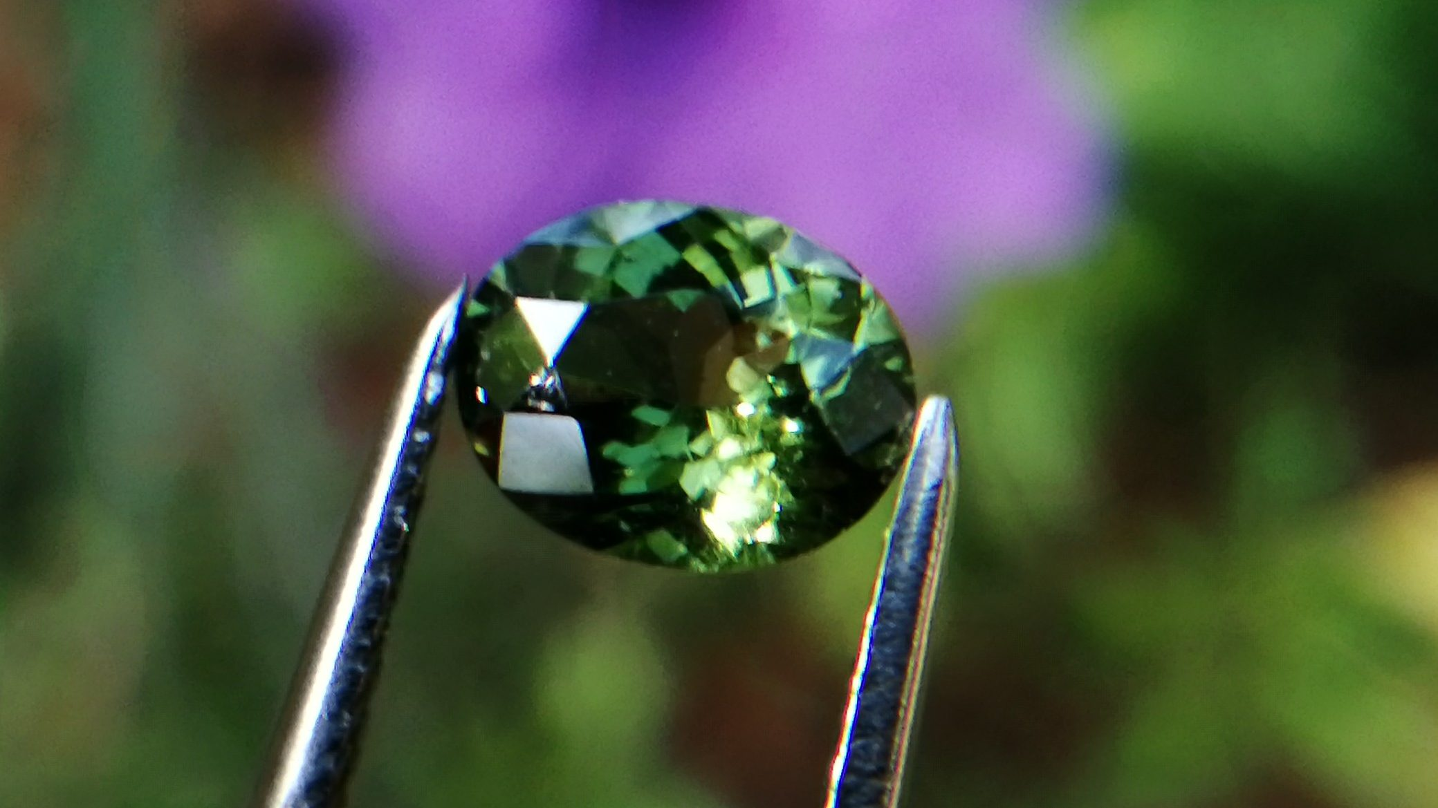 Natural Top Grade Green Zircon - Beccarite Zircon Danu Group P