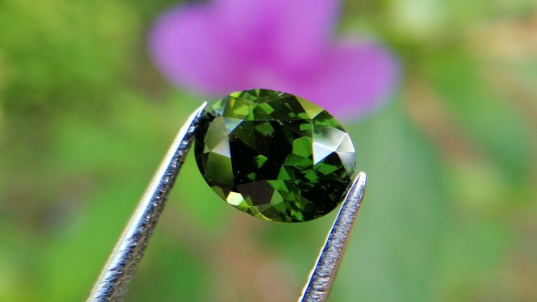 Natural Top Grade Green Zircon - Beccarite Zircon Danu Group V