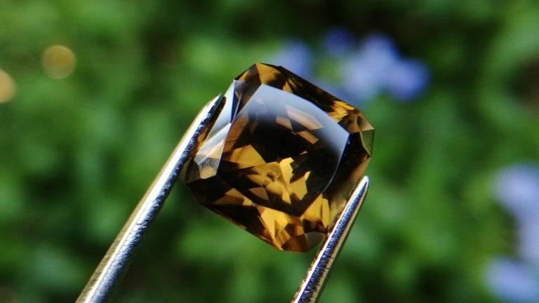 12_Ceylon Natural Zircon from Danu Group gem mining