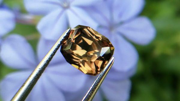 23_Ceylon Natural Zircon from Danu Group gem mining