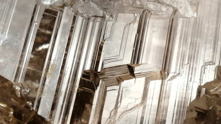 5_Ceylon Natural Quartz Crystal with step marks - Danu Group Gemstones