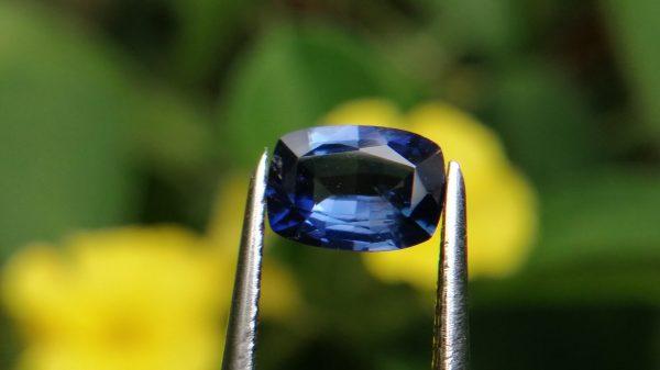"""Ceylon Natural """"Cornflower Blue"""" Sapphire"""