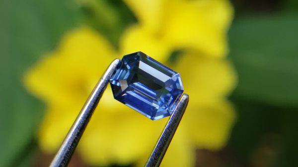 Ceylon Natural Cornflower Blue Sapphire Gemstone from Danu Group