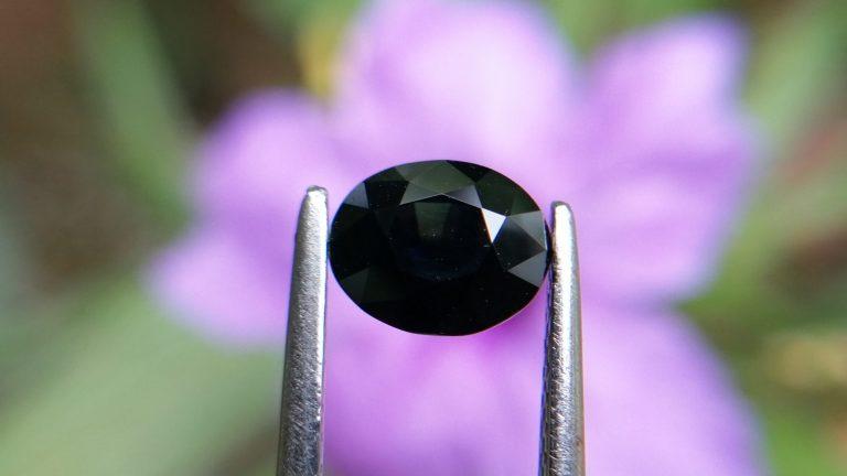 5_Natural Kaka Blue Sapphire kaka nil stone of planet Saturn Danu Group Gemstones