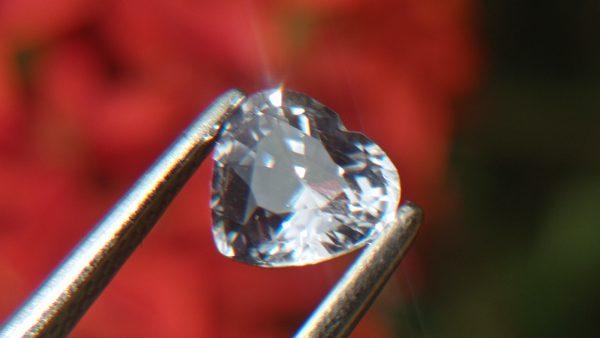Ceylon Natural white Sapphire from Danu Group Minings