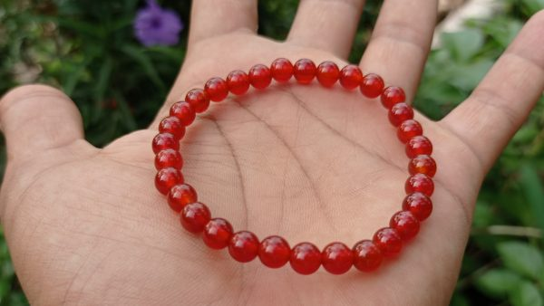 Natural Carnelian Bracelet Healing Gemstone Danu Group Gemstones