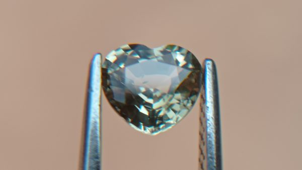 Ceylon Natural light green Sapphire from Danu Group Minings