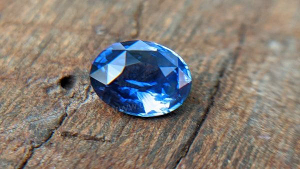 Cornflower Blue Sapphire Sri Lanka - Danu Group Gemstones