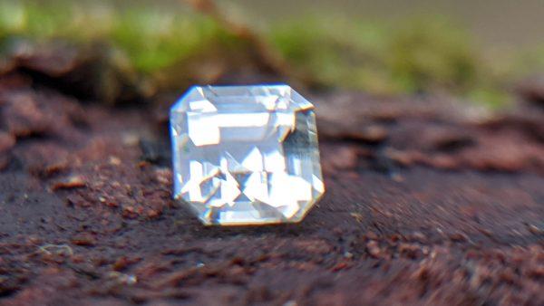 Ceylon Natural white Sapphire - Danu Group Gemstones Mining