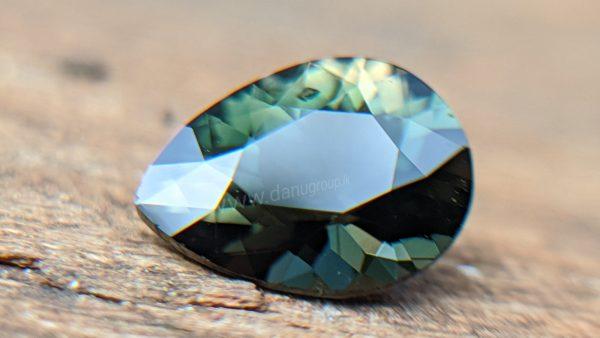 Ceylon Natural Rare Borosilicate Gemstone - Kornerupine from Deniyaya Sri Lanka Danu Group Gemstones Collection