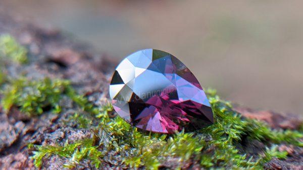 Ceylon Natural Drop Shape Pear Spinel Danu Group Gemstones