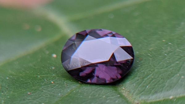 Ceylon Natural Purple Spinel from Danu Group Gemstones Collection - Oval Shape Spinel