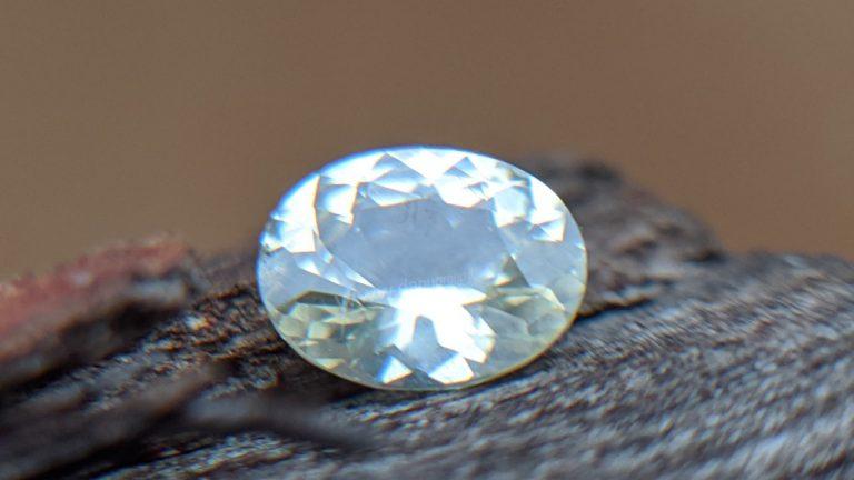 Ceylon Natural Yellow Sapphire Oval Shape stone - Danu Group Gemstones