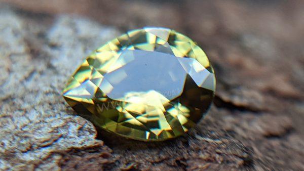 Ceylon Natural Green Sinhalite Rare Gemstones from Danu Group Gemstones Collection