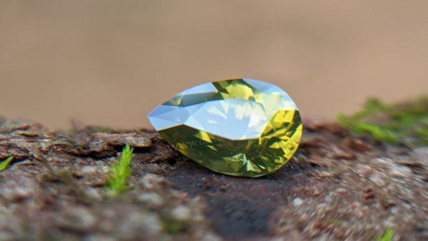 Ceylon Natural Olive Green Zircon Danu Group Gemstones