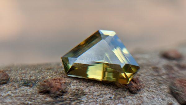 Rare Natural Sinhalite Gemstone from Danu Group Rare gem collection
